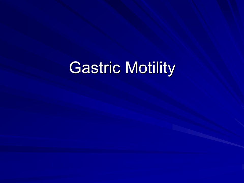 Gastric Motility