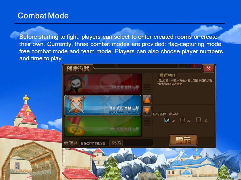 Task System Task system will help players to know more about the game and thus enjoy it.