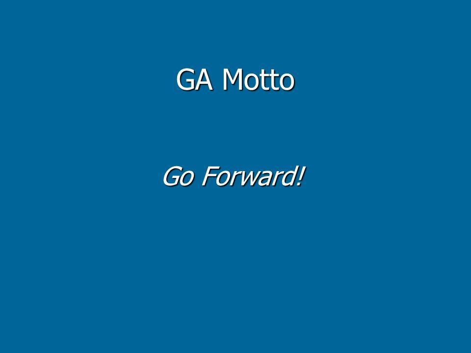 GA Motto Go Forward!