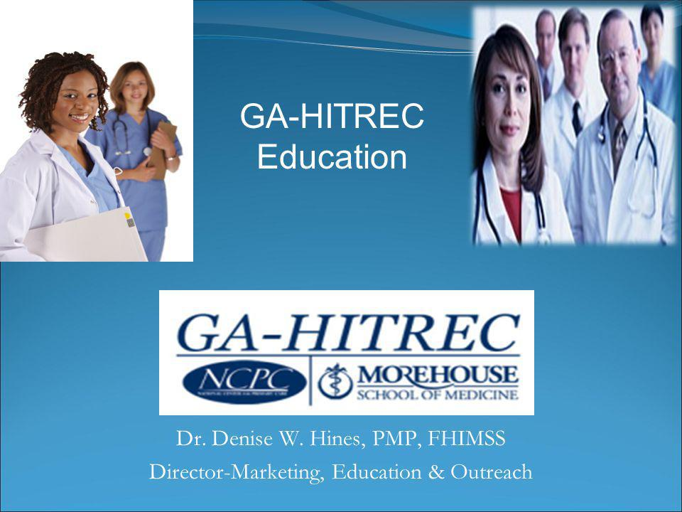 Summary of 2011 Education Events 36 GA CAH/Rural hospitals eligible for education services at no charge 9 Webinars on Meaningful Use 7 Sessions on HIPAA 2 Webinars on available GA-HITREC education and technical assistance services 1 Webinar on GA Medicaid Incentive Program 2 © Copyright 2010 All Rights Reserved.