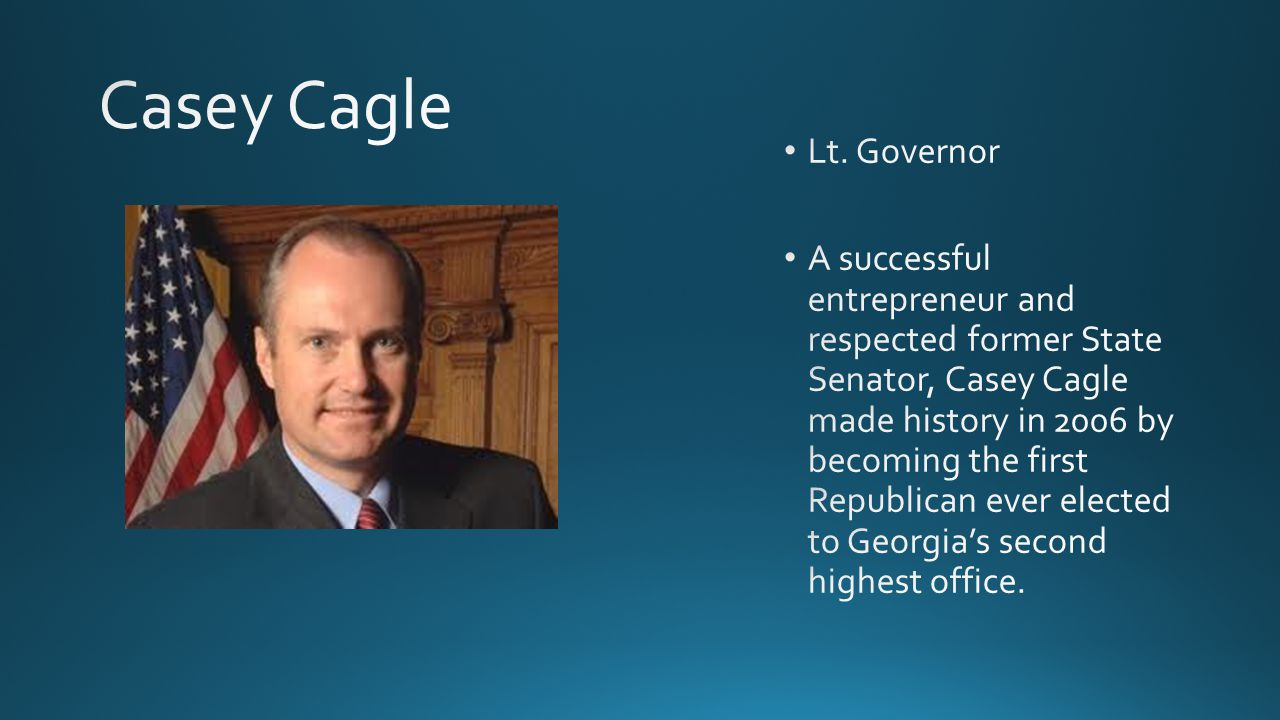 GovernorLieutenant Governor Qualifications 30 yrs old Resident of GA for 6 yrs U.S.