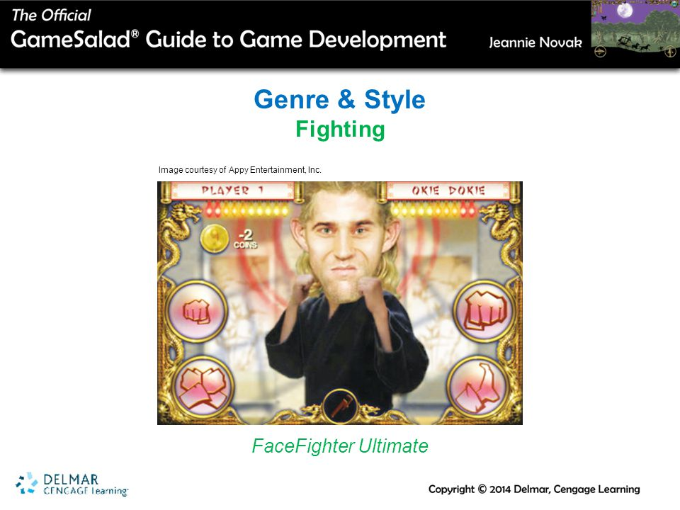 Genre & Style Fighting FaceFighter Ultimate Image courtesy of Appy Entertainment, Inc.