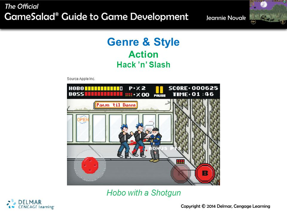 Genre & Style Action Hack 'n' Slash Hobo with a Shotgun Source Apple Inc.