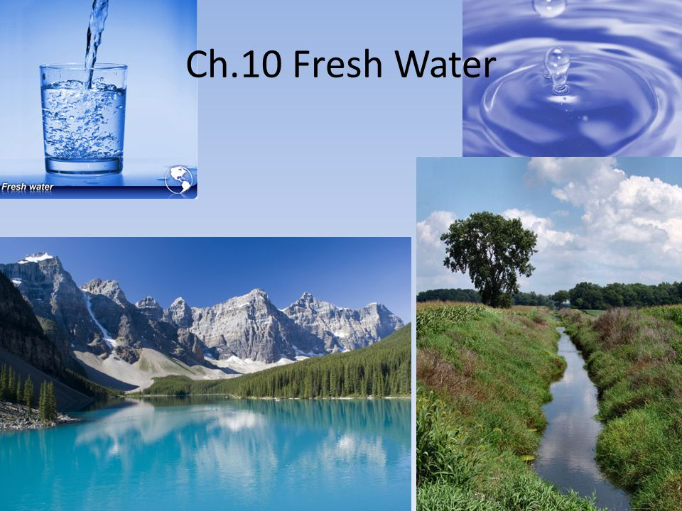 1. What percent of Earth's water is salty? What percent is fresh?