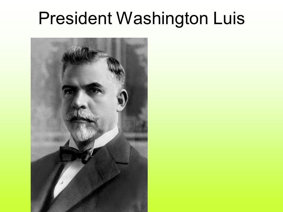 President Washington Luis