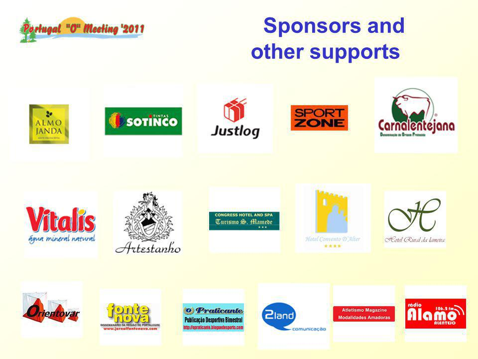 Sponsors and other supports