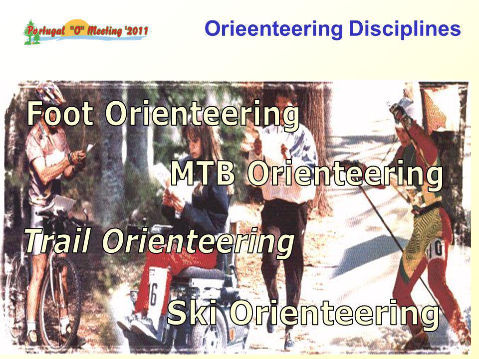 Orieenteering Disciplines