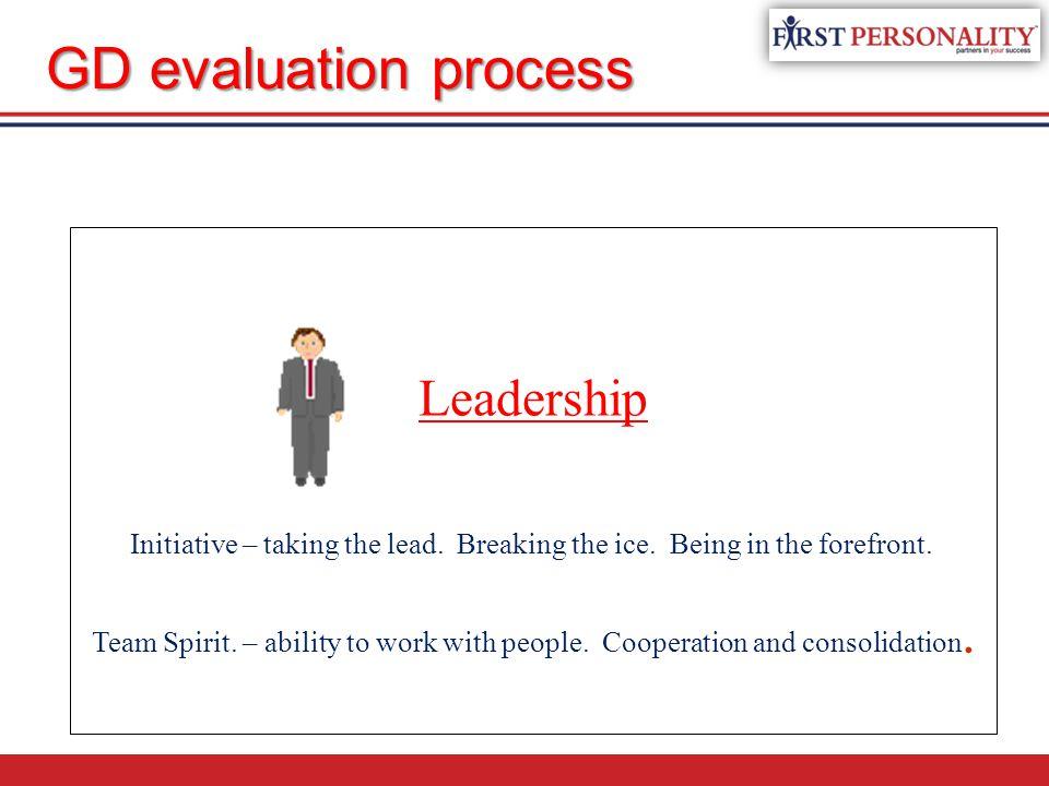 Leadership Initiative – taking the lead.Breaking the ice.