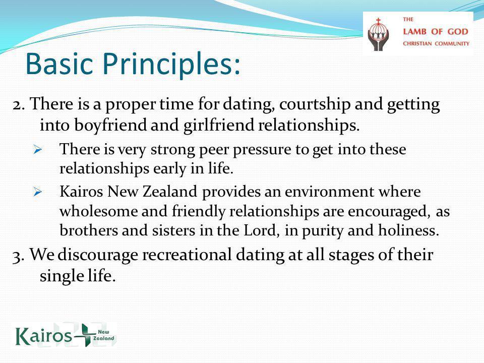 Basic Principles: 2.