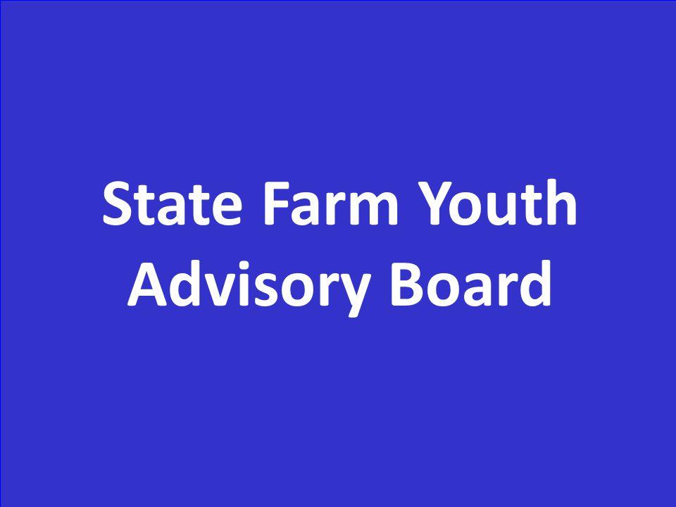 State Farm Youth Advisory Board
