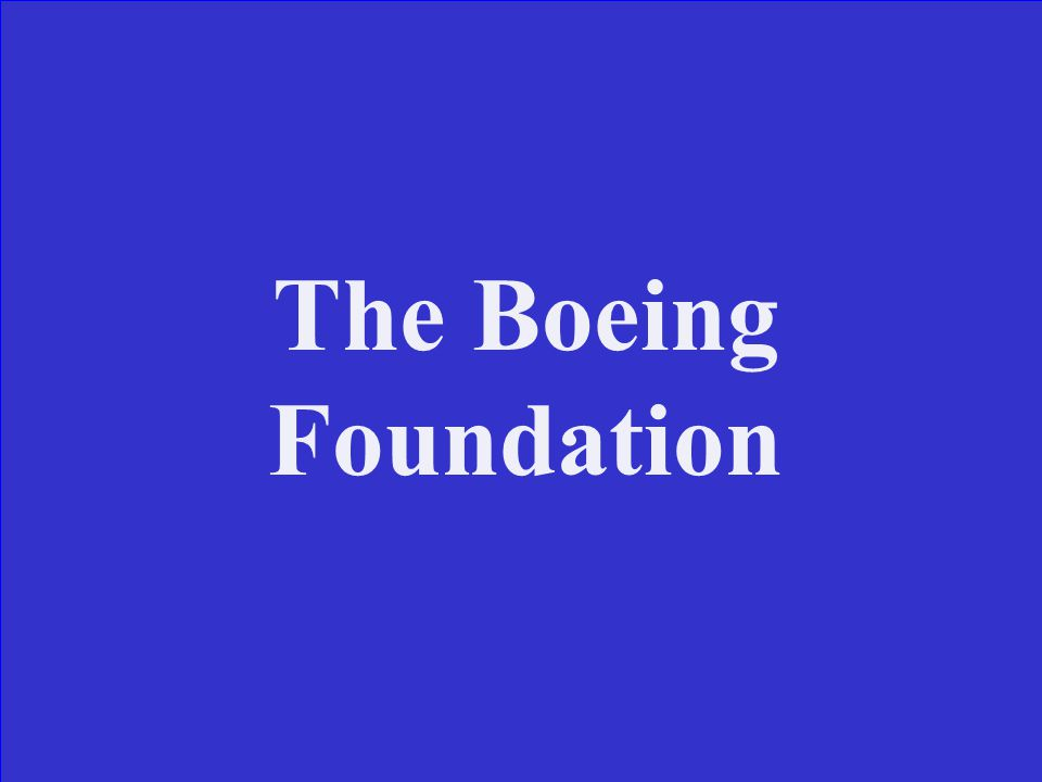 The Boeing Foundation