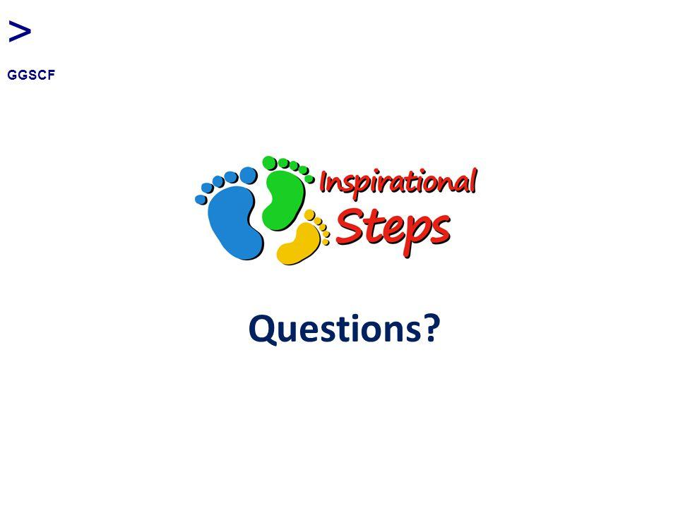 Questions? > GGSCF