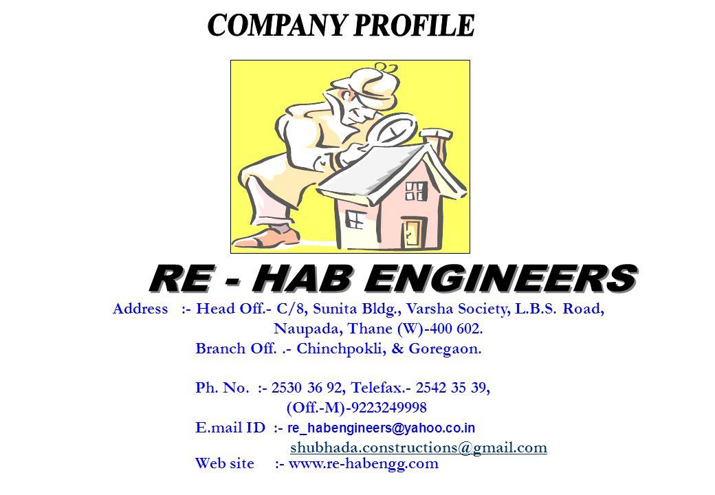 Address :- Head Off.- C/8, Sunita Bldg., Varsha Society, L.B.S.