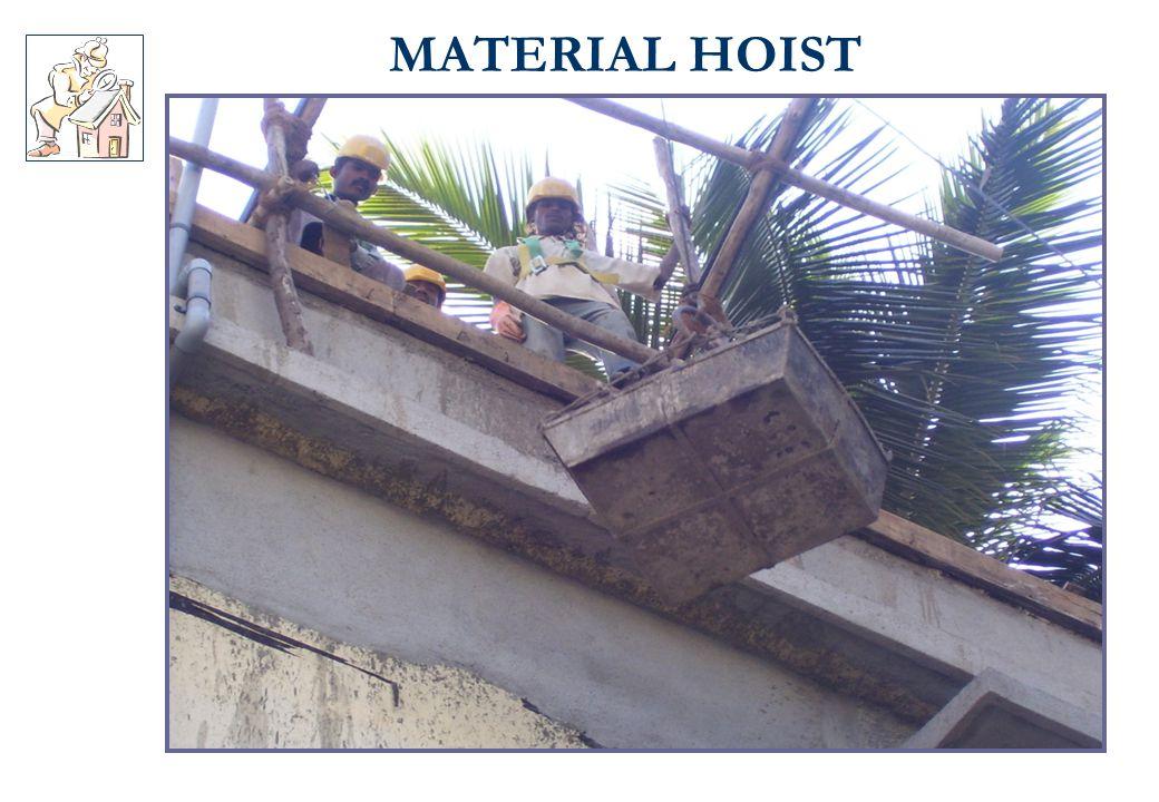 MATERIAL HOIST