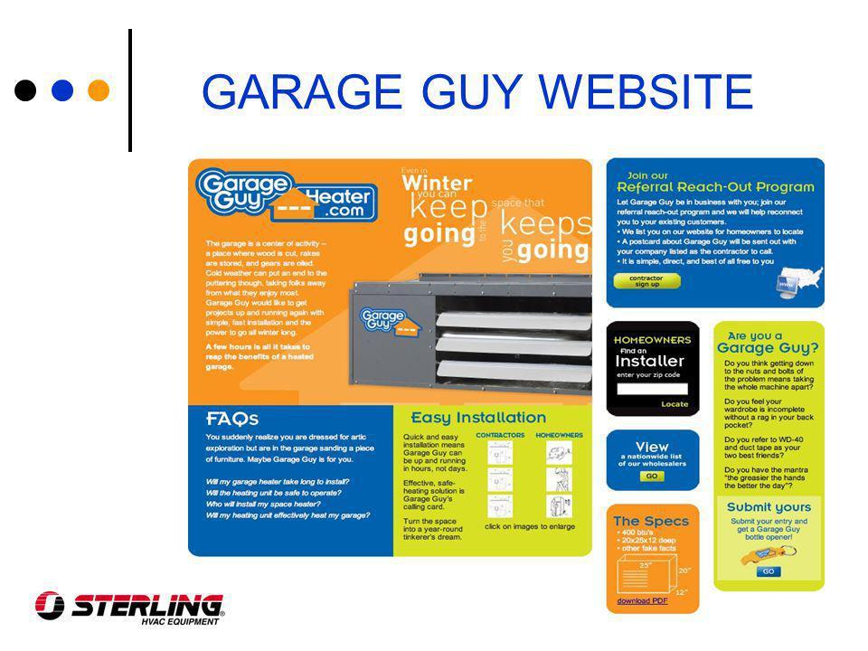 GARAGE GUY WEBSITE