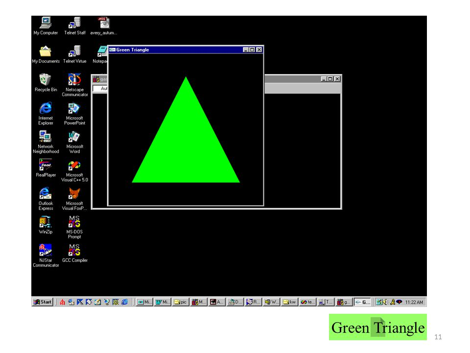 11 Green Triangle