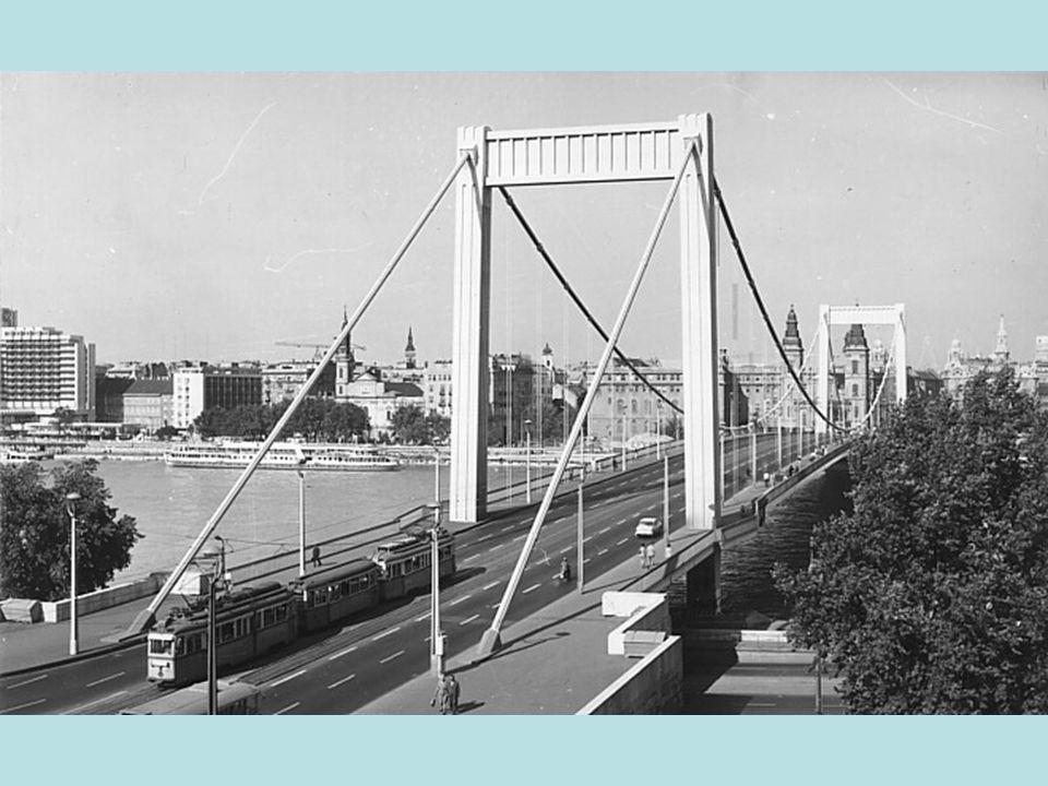 Opening of the new Elisabeth bridge 20th November 1964