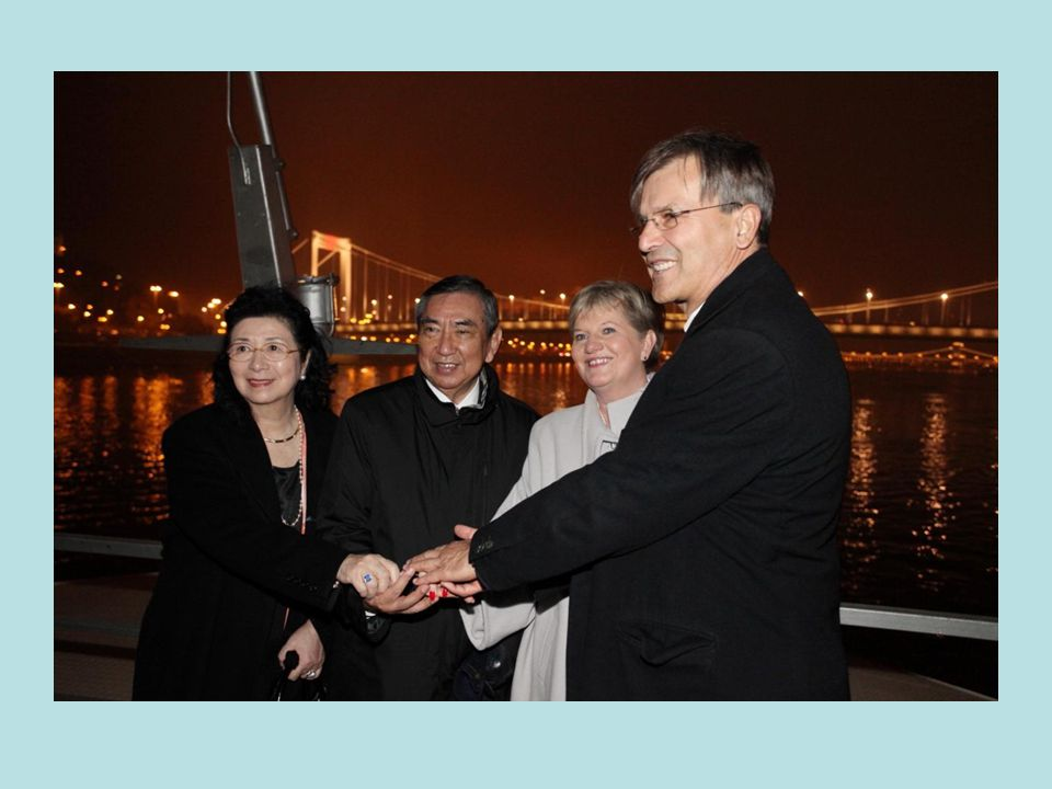 Hungary-Japan Jubilee Year Inauguration of the Elisabeth Bridge Lighting Project 17th November 2009 Hungary-Japan Jubilee Year Inauguration of the Elisabeth Bridge Lighting Project, 17th November 2009