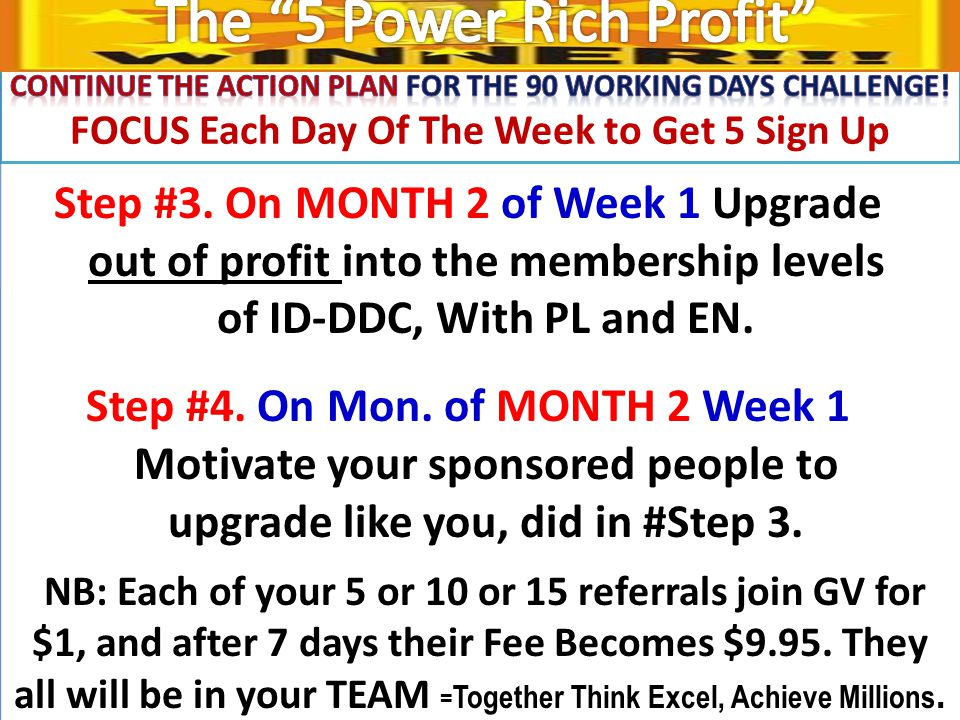 RECAPING THE SYSTEM.How To Work GV-PL, ID-DDC & EN & To Earn A Huge Profit.