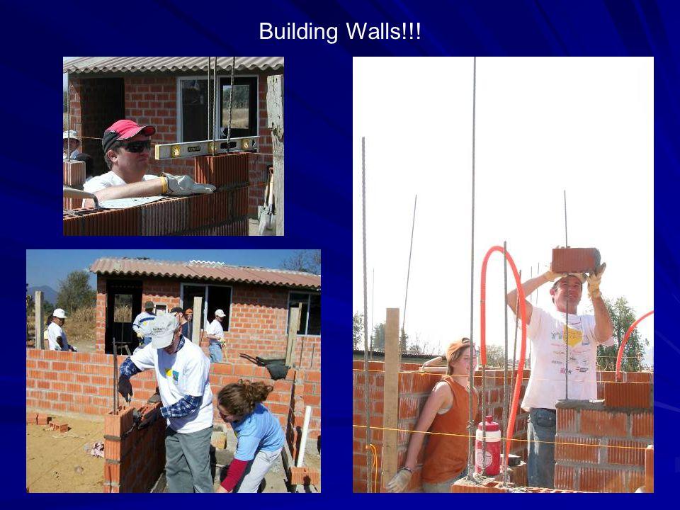 Building Walls!!!