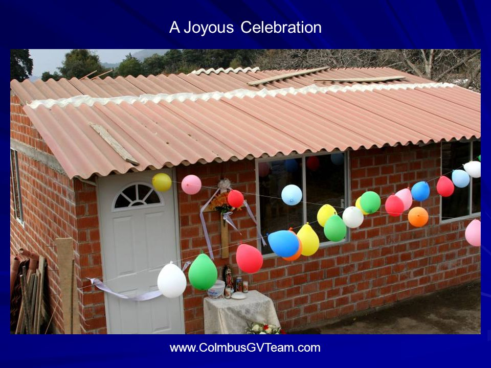 A Joyous Celebration www.ColmbusGVTeam.com