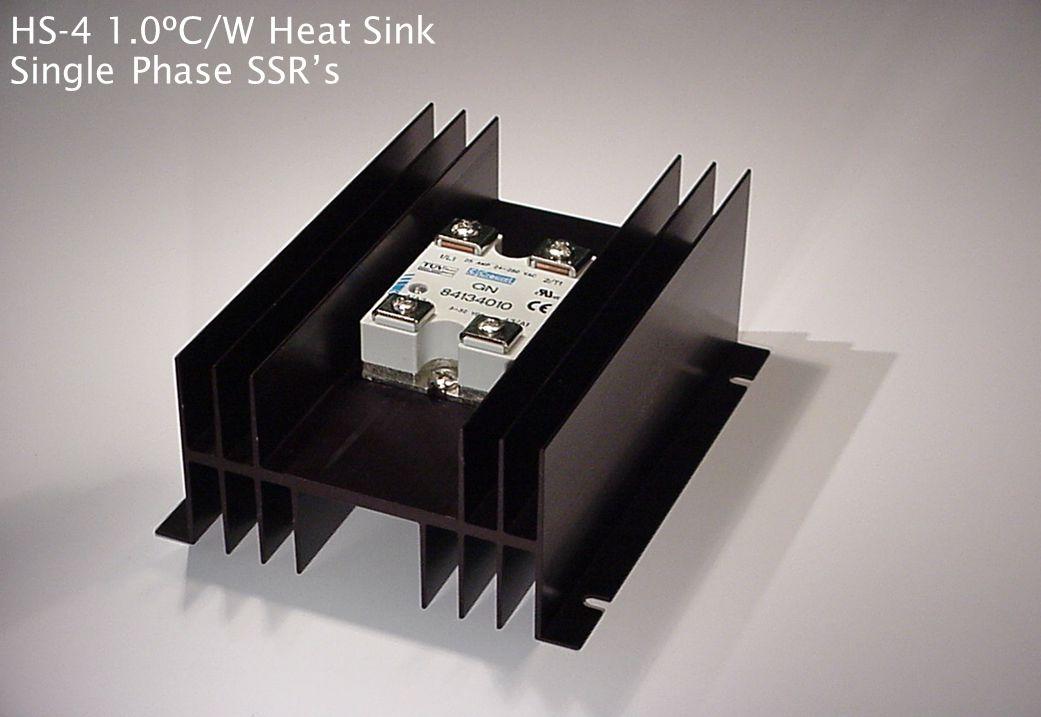 HS-3 1.5ºC/W Heat Sink Single Phase SSR's
