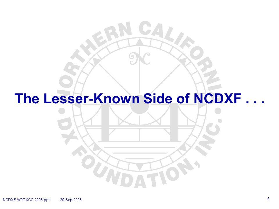 7 NCDXF Worldwide Beacon System