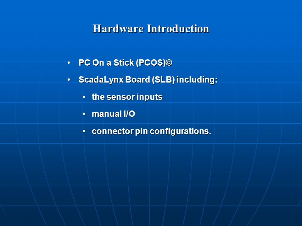 PC On a Stick© (PCOS) The PCOS is a 386 DOS computer on a single board or stick.The PCOS is a 386 DOS computer on a single board or stick.