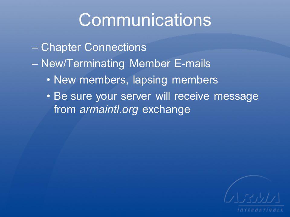 New Association Management System!.