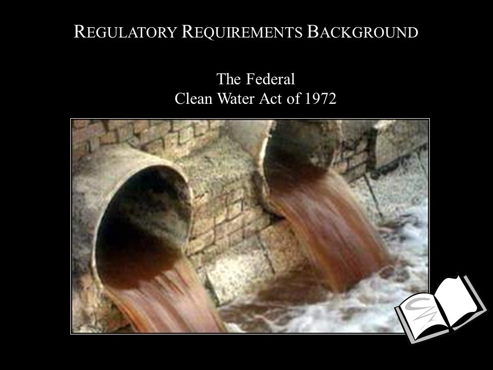 R EGULATORY R EQUIREMENTS B ACKGROUND The Federal Clean Water Act of 1972