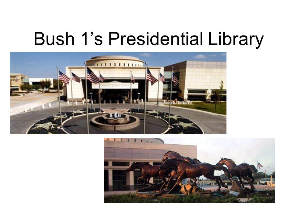 Bush 1's Presidential Library