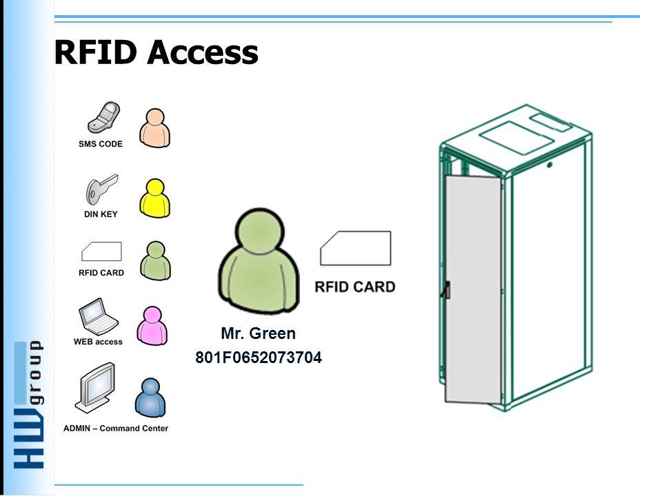 RFID Access Mr. Green 801F0652073704