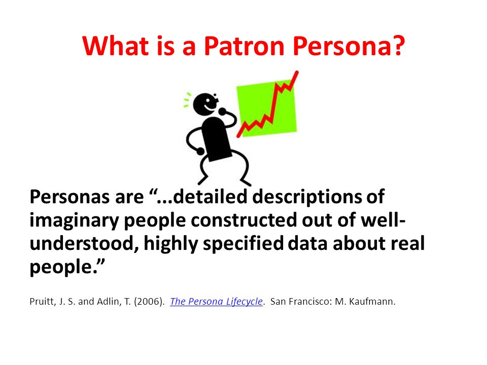 What is a Patron Persona.