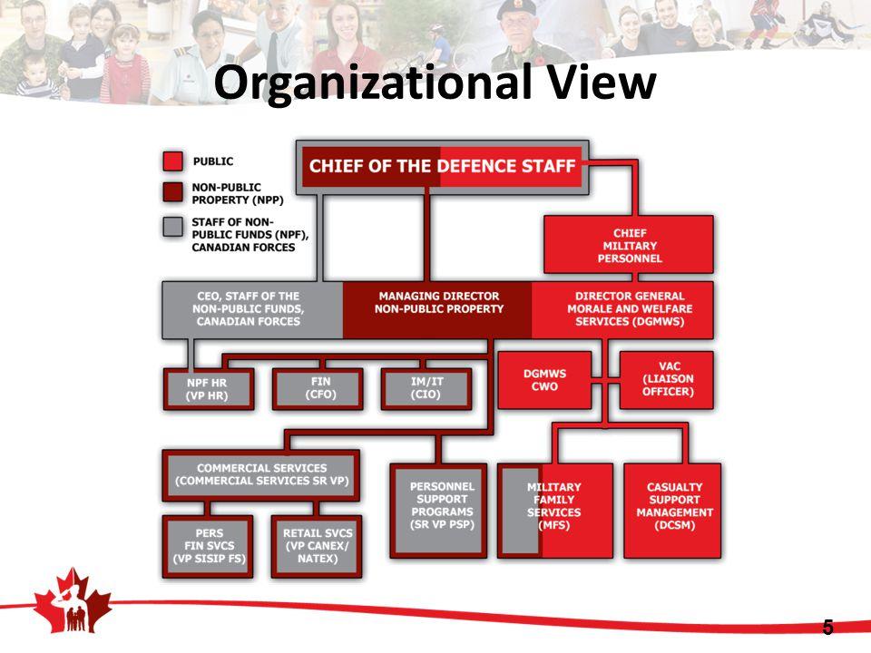Organizational View 5