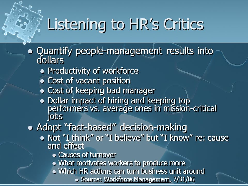 Effective HR Strategy Formulation and Implementation Organizational Strategies Organizational Strategies Organizational Characteristics Organizational Characteristics Organizational Capabilities Organizational Capabilities Environment HR Strategies Consistency Improved Firm Performance Improved Firm Performance Fit Fit Fit Fit