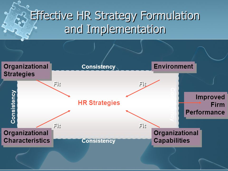 Selected HR Strategies That Fit Porter's Three Major Types of Business Strategies Business Strategy Common Organizational Characteristics HR Strategies Overall cost leadership Sustained capital investment and access to capital Intense supervision of labor Tight cost control requiring frequent, detailed control reports Low-cost distribution system Structured organization and responsibilities Products designed for ease in manufacture Efficient production Explicit job descriptions Detailed work planning Emphasis on technical qualifications and skills Emphasis on job-specific training Emphasis on job-based pay Use of performance appraisal as a control device
