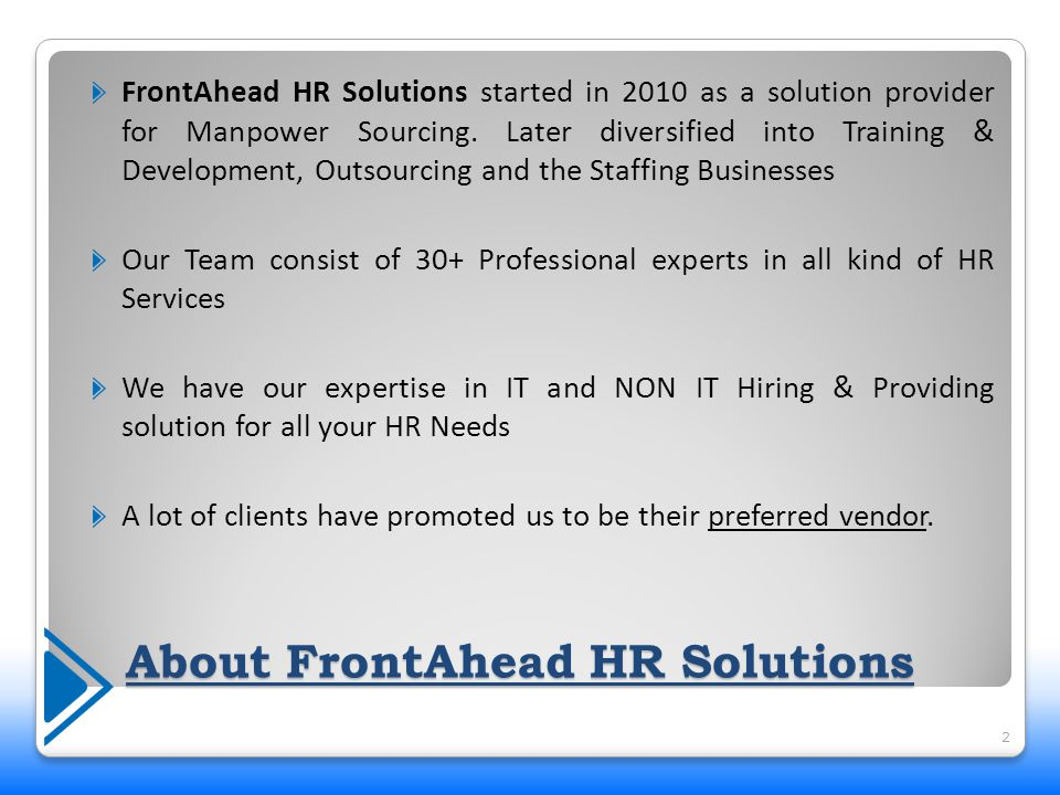 Our Offerings Search Staffing Training Outsourcing 3