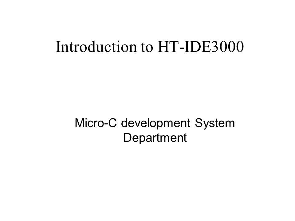 Program window Program window is dockable