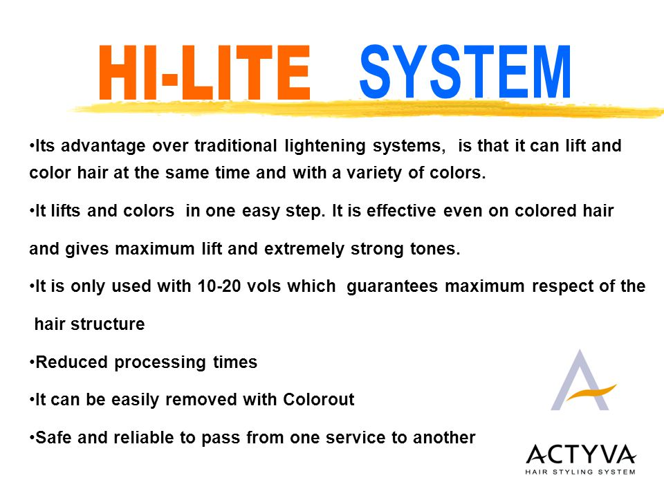colorout is perfect for getting rid of all the HI-LITE colors in a super safe and easy way.