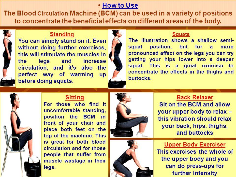 4. Blood Circulating Machine for your Health vxj jguk gS LoLFk rk s j[kuk gS Blood Circulation eLr Mk;fcVht ('kqxj) D;k vki bu chekfj;ksa ls xzflr gS