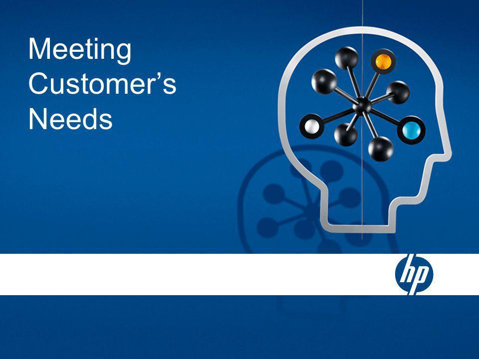 Meeting Customer's Needs