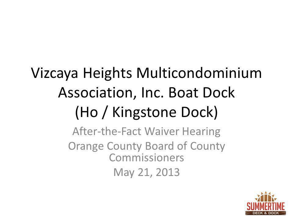 Vizcaya Heights Multicondominium Association, Inc.