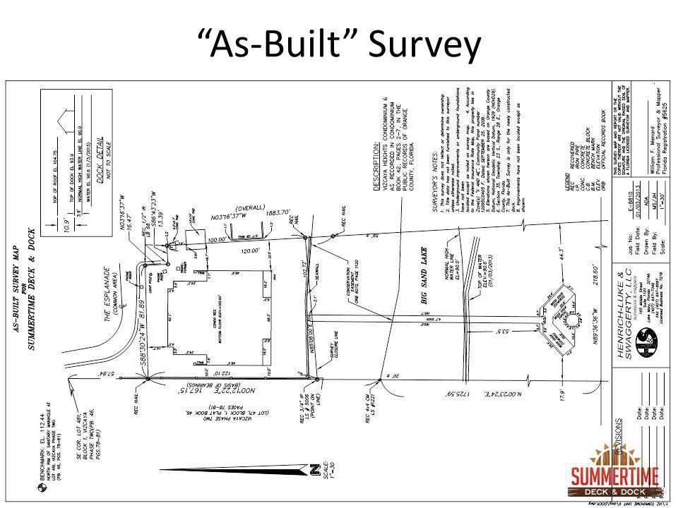 As-Built Survey