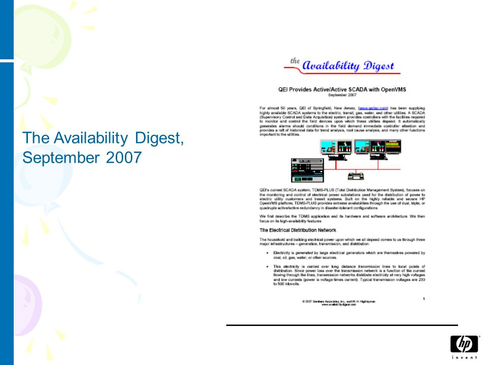 The VISTA Control Systems website, 20 th September 2007