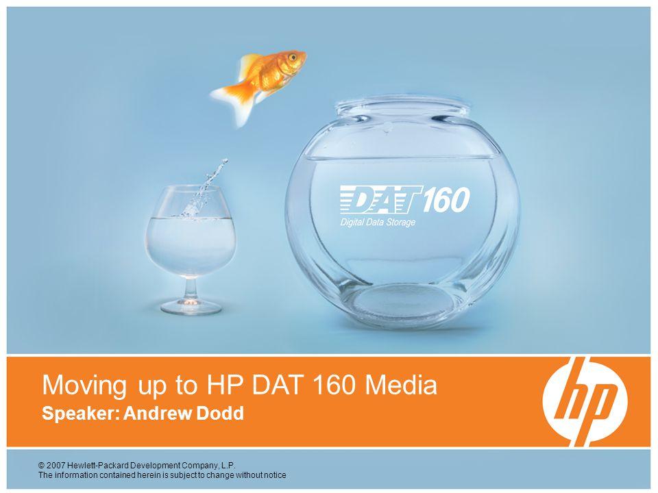 © 2007 Hewlett-Packard Development Company, L.P.