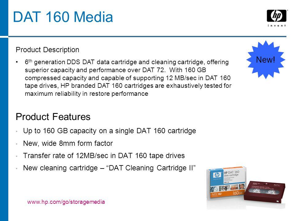 DAT 160 Media New.