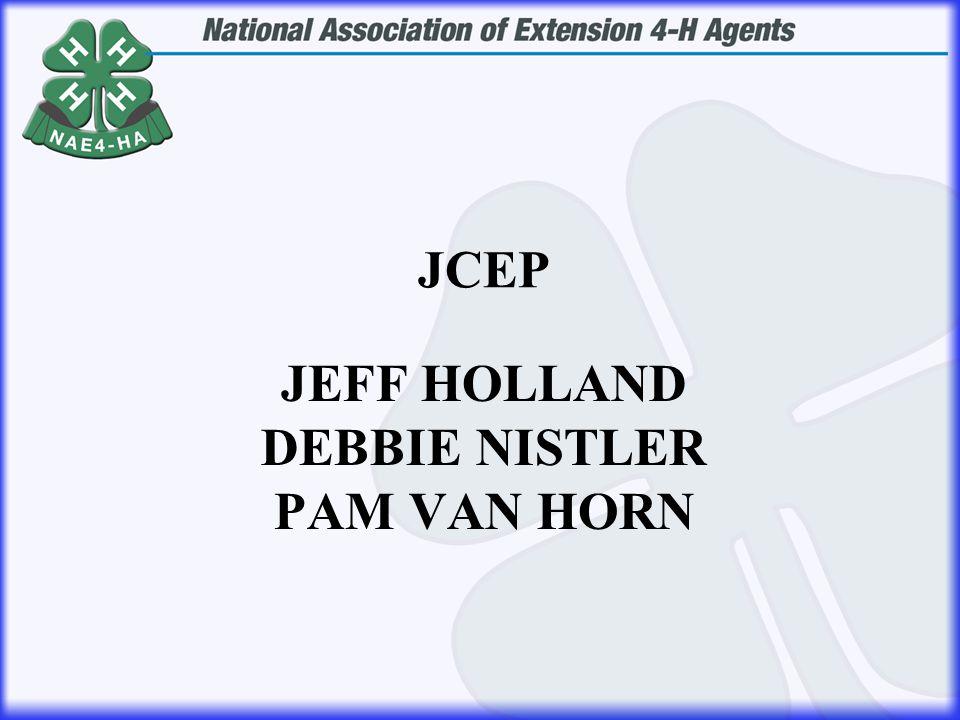JEFF HOLLAND DEBBIE NISTLER PAM VAN HORN JCEP
