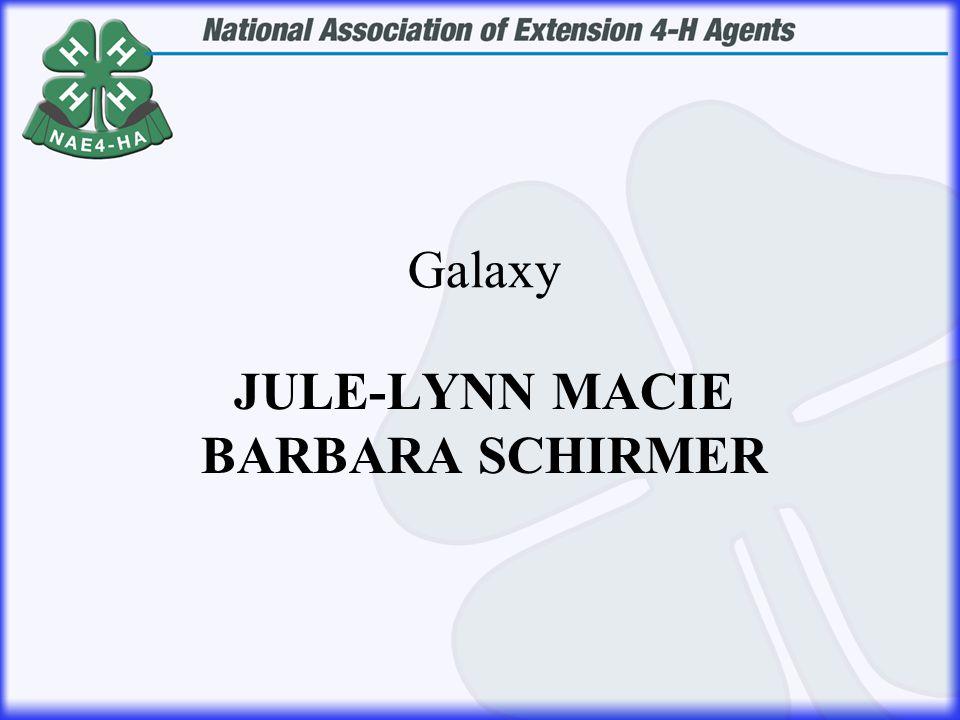 JULE-LYNN MACIE BARBARA SCHIRMER Galaxy