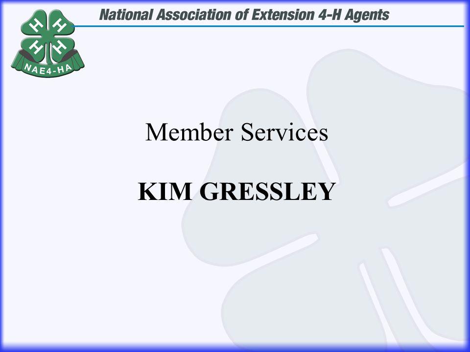 KIM GRESSLEY Member Services