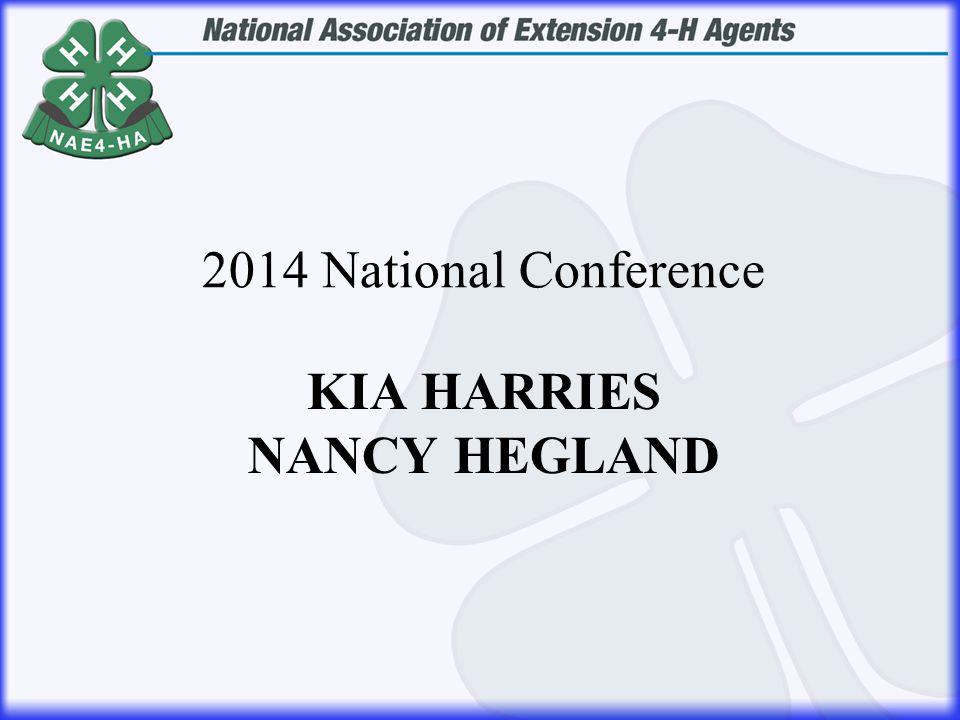 KIA HARRIES NANCY HEGLAND 2014 National Conference